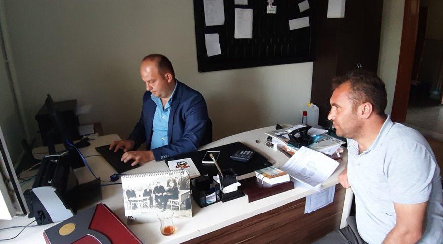 """""""OKUYAN ÇANDIR, DEĞİŞEN ÇANDIR"""" PROJESİ KOP'A SUNULDU"""